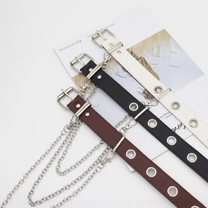 FjgQ 12YsQ Korean style fashionable wide women039;s Letter dress strap dress cloth accessories skirt Jeans Belt decorative Desig CDner all-m