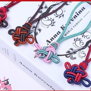 2pcs mini noeuds chinois Tassels Pendentif Accessoires Accueil Textile Rideau Vêtements Tassel Handicraft Corde DIY Matière décorative H WMTUTW