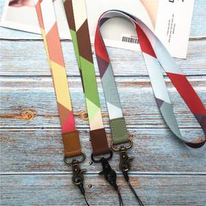 Neck Lanyard Keychain Holder Mobile Phone Neck Strap Lanyard For Id Card Key Chain Usb Badge Holder Diy Lariat H jlldJE