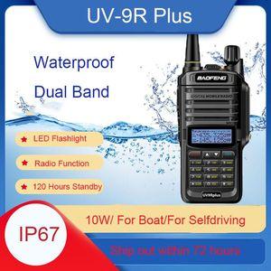 BAOFENG UV-9R PLUS Dual Band Ham Radio UV-9R PLUS Impermeabile IP67 Mobile Two Way Radio Portable Walkie Talkie