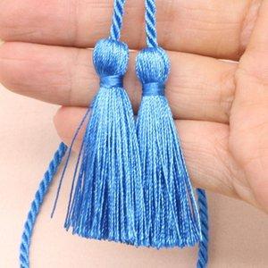 5 unids 54cm cinta de cuerda de dos cabezas largas borlas de bricolaje accesorios de prendas de ropa decoración borde franja casero textil cortina borlas colgante h wmgjb