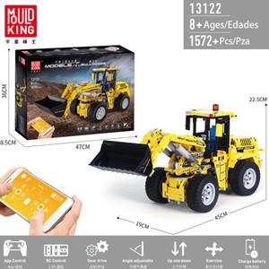 plastic block emote control buildingRemote control building block bulldozer RC model building block boy child adolescent Christmas gift