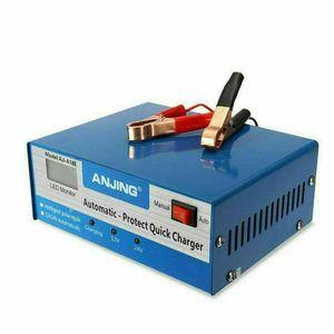 Caricabatteria automatico pieno intelligente 250V 12V 24V 200AH Piombo Pulse riparazione Starter US L2I7T