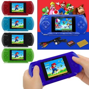 PVP 3000 Handheld Game Player Integrierte 19 Spiele Portable Video LCD Handheld-Player für Familien-Mini-Videospielkonsole mit Box LJ201204