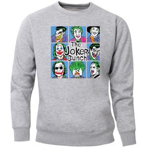 Joker Bunch Eric Border Hoodie Men Sweatshirt Villain Eric Border Crewneck Sweatshirts 2020 Jumper Black Jack Napier Sportswear