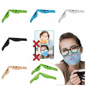 Anti Fog Silicone Nose Bridge Pads Nose Bridges Flexible Design Protection Strip Accessory For Prevent Eyeglasses From Fogging Mask RRA3757