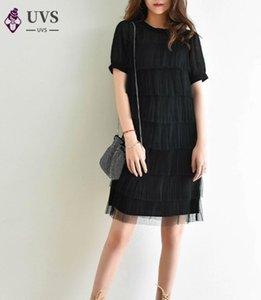 2020 Summer Edition Chiffon-Kleid Neuer Absatz Kuchen wächst in weiblichen Temperament des plissierten Kleid