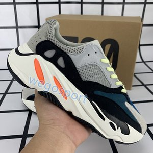 Solid grey kanye 700 zapatillas para correr zapatillas para hombre carbon hospital blue analog static utility triple negro naranja zapatillas de deporte para mujer con caja