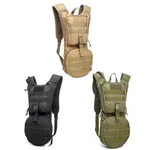 3L Tactical Hydration Backpack Oxford Outdoor Hiking Trekking Bicycle Backpack Combat Training Drinking Water Bags
