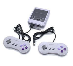 Mini Retro SFC with 621 game handheld home TV, with two console 8-bit system HD video game consoles