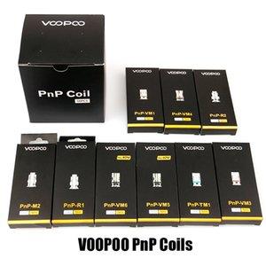 100% Original Voopoo PnP Coil Head VM1 VM3 VM4 VM5 VM6 TM1 M2 Mesh R1 R2 Vape Core for Vinci R X Drag S Argus RX Air Vapor Genuine