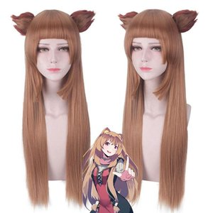 Aneko Yusagi Raphtalia Anime Cosplay Wig Bangs Synthetic Hair Halloween Costume Party Play Wigs For Women