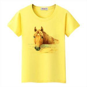 Super cool 3D horse tshirt cool summer tops hot sale funny tees original brand casual shirt lovely 3D horse t shirt
