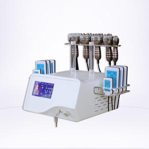 CE RF Ultrasonic Cavitation Slimming Vacuum Cavitation System Body Radio Frequency And Cavitation Touch Screen Fat Loss Machine