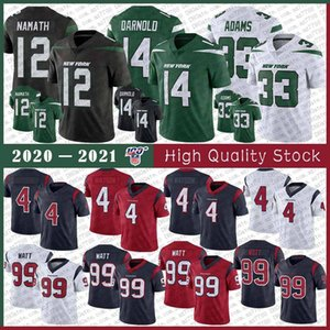 14 Sam Darnold 12 Joe Namath 33 Jamal Adams New York