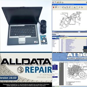 2020 hot all data 10.53 auto repair software alldata m..chell 2020 software atsg 3in1 1TB HDD installed in laptop D630 4g