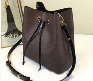 new shoulder bags leather bucket bag women famous bra design handbags high quality Cross Body