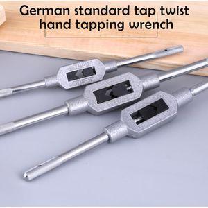 М1-8 / М1-10 / M1-12 Регулируемый Tap для резьбы Tap ручки стали Ручной держатель врезки REAMER Инструменты #