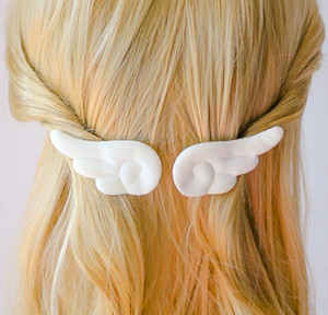 Angel Wing Hairpin Plush Angel Wing Hairpin Ladies Hair Accessories Hairpin GD