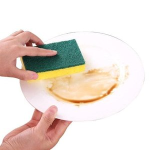 Alta Densidade de borracha impregnados esponja limpa Limpe Dishwash Sponge Limpe pano de limpeza esponja-block Casa Cozinha