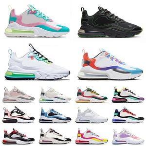 nike air max 270 React EPIC Mode reagiert BAUHAUS Laufschuhe Travis Scott x 27C React Element Phantom Summit Weiß Blau Lagoon Womens Designer Sneakers Größe 36-46