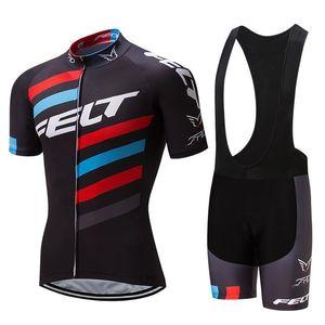 2020 Nuovo 2020 Felt Pro Cycling Jersey della bici breve Set Mtb Ropa Ciclismo Pro Cycling Wear Mens Bicicletta Maillot Culotte