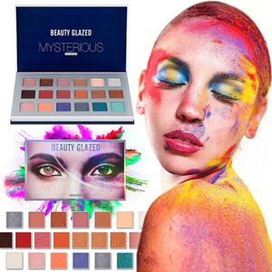18 Color Natural Highlight Palette Of Shadows Cosmetics Matte Pearlescent Soft Pigments The Shadows Eye Lasting Eyeshadow TSLM1