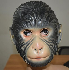 Animal Wolf EVA Dos Desenhos Animados Macaco Festa Tigre Máscaras Xmas Dia das Bruxas Diversão Adultos Crianças Fantasia Acessório Acessório Full Face Mask