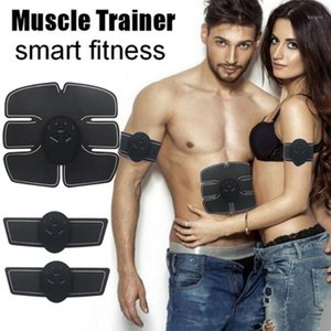 Muscle Stimulator Massager Body Slimming Shaper Machine TENS Electronic Abdominal Fitness Accessories EMS Wireless Electric1