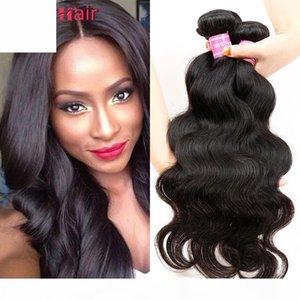 Vente en gros poils humains péruviens corporels cheveux cheveux tisse péruvienne vierge cheveux forfaits offres 100g pièce sans traité humaine extensions de cheveux weft uk