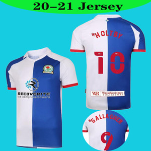 2020 2021 Top Blackburn Rovers Fussball Jersey 20 21 Armstrong Brereton Holtby Dack Gallagher Football Hemd