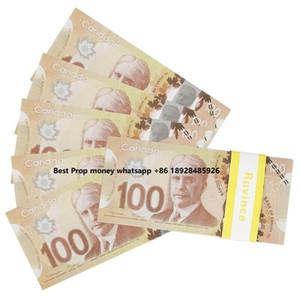 الجملة الدعامة المال الدولار الكندي cad الأوراق النقدية ورقة لعب الدعائم الفيلم المال