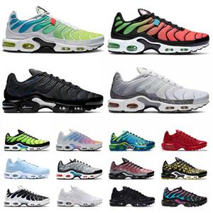 nike air max plus tn airmax tns TAGLIA US 12 scarpe da corsa uomo donna Worldwide tn plus se triple nere scarpe da ginnastica tutte bianche sneakers sportive da esterno EUR 36-46