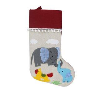 New Christmas Stocking Gift Bag Christmas Gift Socks For Kids Christmas Tree Ornaments Mall Home Decoration Supplies CCE1978