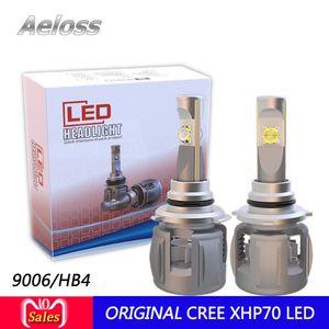New Cr-ee xhp70 P70 Autos Bulbs LED H7 H4 H11 H13 9004 9005 9006 9007 9003 3 4 5202 H16 LED Car Headlights with DHL shipment