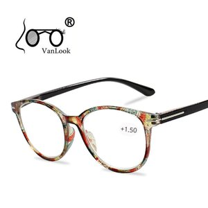 Цветочные кошачий глаз Reading Glasses с Spectacles Степень Eyeglasse Рамка диоптрий Женской для Sight +1,0 +1,5 2,0 2,5 3,0 3,5 4,0