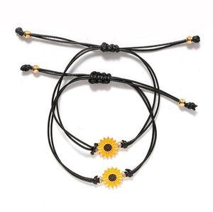 Wholesale Cheap Wish Rope Friendship Bracelets Bracelet Friendship 2pcs Set Promotion Gift Best Gift for Her
