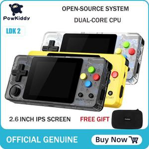 POWKIDDY LDK novo jogo de 2,6 polegadas de tela Mini Handheld Game Console Nostalgic Crianças Retro Mini Família TV Video Consolas