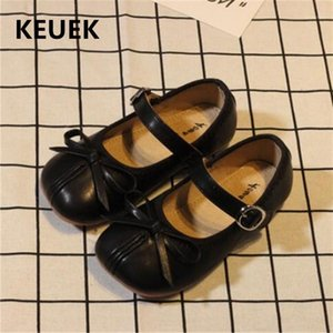 New Baby Soft Leather Toddler Comfoetable Flats Children Shoes Girls Princess Dance Shoes Kids Student 0181