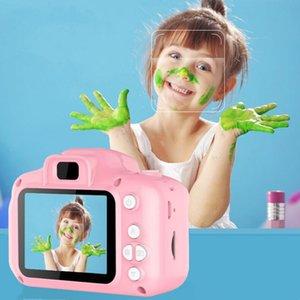 Enfants caméra enfants mini caméra numérique caméra de dessin animé mignon caméra pour cadeau d'anniversaire cadeau 2 pouces cam tacm prendre des photos DHB4124