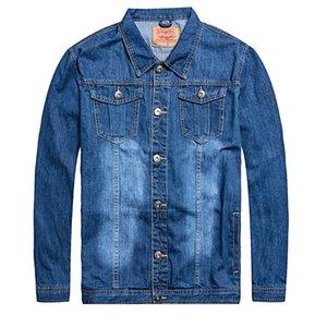 Denim Jacket Men Oversized 6xl 7XL Fashion Design Spring Large Size Clothing Casual Coat Male Jean Jacket Men Denim Jackets 201022