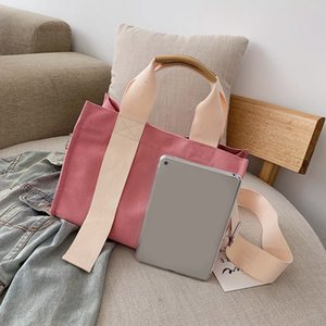 2021 New Canvas Bag Borsa Borsa a tracolla Grande capacità Tote Portable NN 21011405DQ