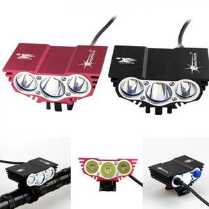 Solarstorm 3 T6 Bicycle Bike Light 8000 Lumens XM-L LED 4 Modes Bike Bicycle Front HeadLight + O Ring