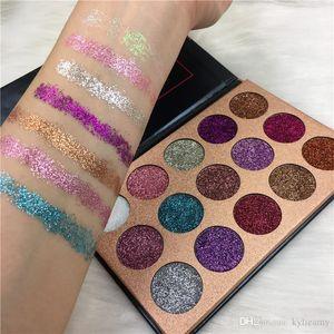 Eauty Glazed 15 colors Glitter Eyeshadow Makeup Eye shadow Beauty Palette Matte Shimmer with Gifts