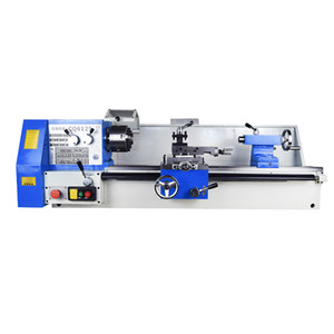 Multifunctional high precision table lathe CQ6125 metal lathe woodworking table lathe small household machine tool 500 220V 380V