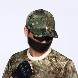 New Army Tactical Hat Soldiers Sun-shading Baseball Cap Camouflage Printed Outdoor Caps Visor B2Cshop