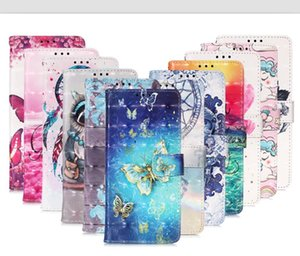 3D Bling Cartoon Wallet Leather Case For Samsung S30 PLUS S30 Ultra A12 A32 5G A02S Strap Flip Flower OWL Skull Stand Card Slot Phone Cover