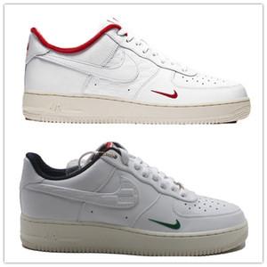 NakeskinAireFuerzaAire reaccionar Hombres 1 X de baja KITH para hombre zapatillas de deporte casuales de lujo de diseño corrientes de los deportes zapatillas de deporte sdf