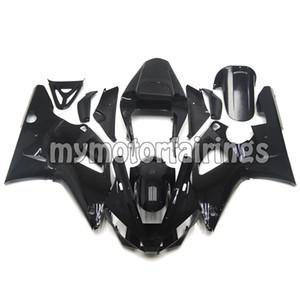 Kits de carenagem para Yamaha YZF R1 2000 2001 Bodywork YZF1000 00 01 kits de corpo - brilho preto