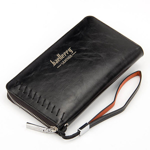 Fashion Long Pu Leather Casual Wallets Purse Coin Clutch Women's Multifunction Wallet Men's Card Holders